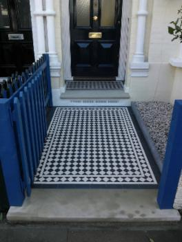 Mosaic Tiles Uk >> Victorian Mosaic Tile - Pimlico Paving Quality Affordable